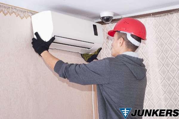 instalar aire acondicionado en morada junkers